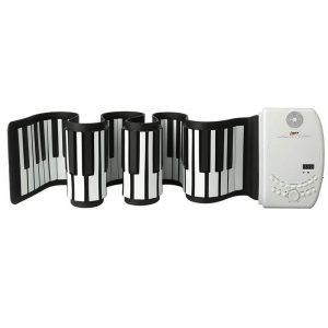 Lujex Roll Up Piano 88 Keys Silicone Keyboard