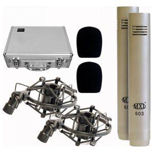 MXL 603 Pair Instrument Mic
