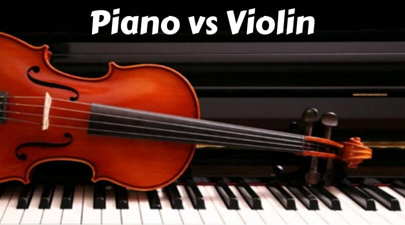 Piano vs violin
