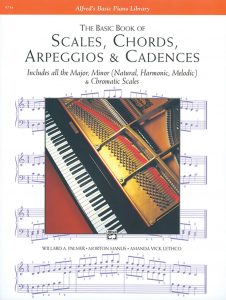 Book for scales and chords