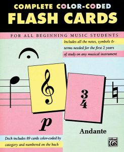 Flashcards and notes