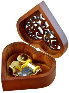 Heart-Shaped Musical Box