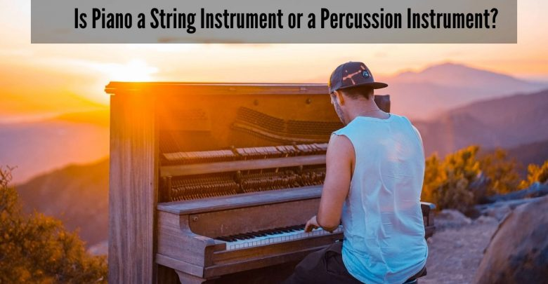 Is Piano a String Instrument or a Percussion Instrument